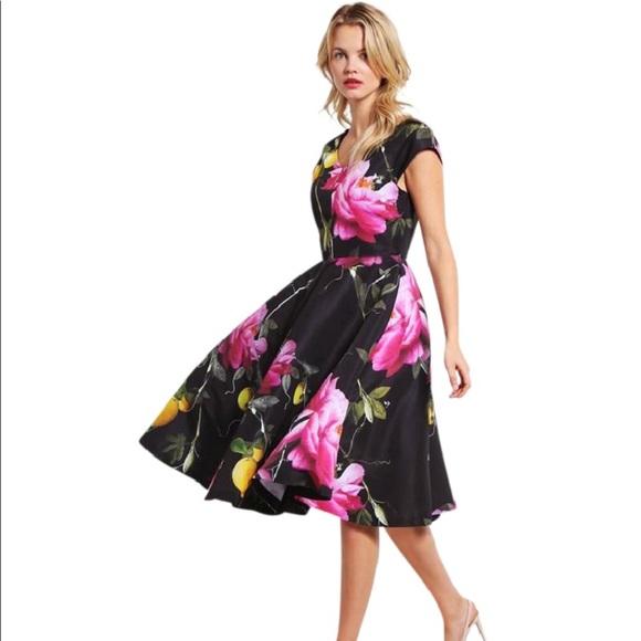 13cc1822714fc NWT Ted Baker London dress citrus bloom